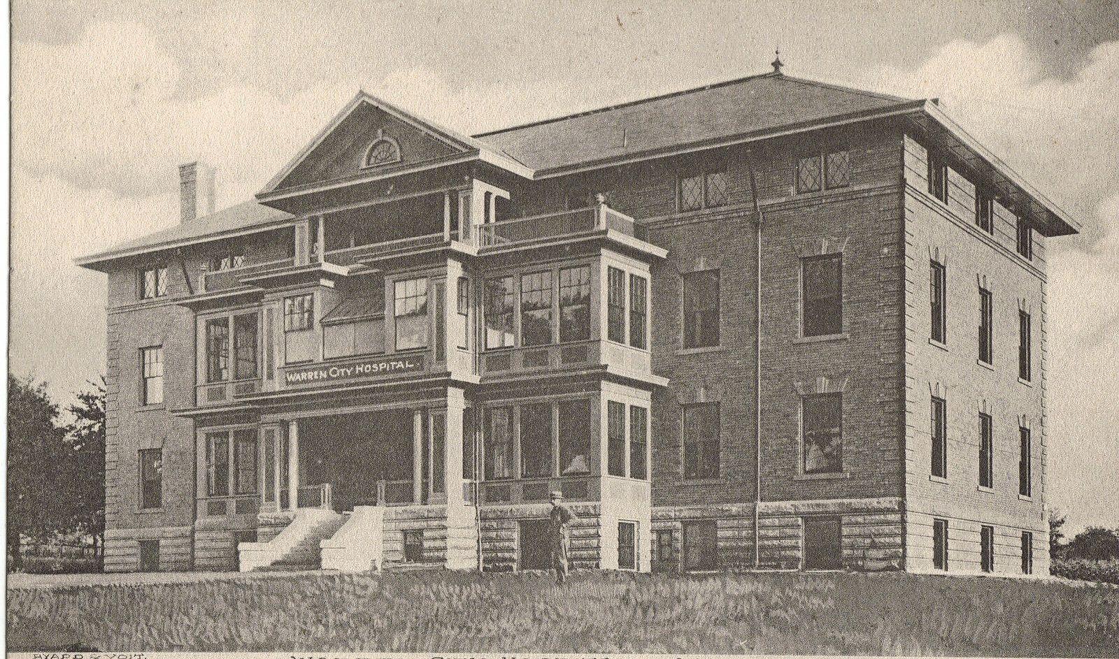 Warren city hospital warren ohio ohio history city