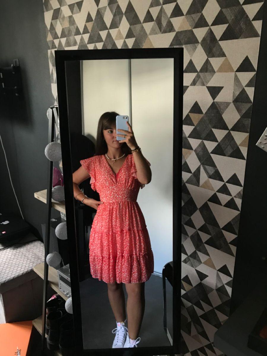 robe d'été   Robe corail, Nike blazer, Robe