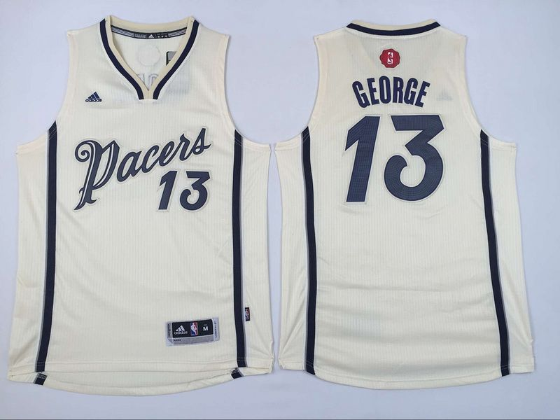 ... 21.5 Adidas Indiana Pacers 13 Paul George Cream 2015 Christmas NBA Swingman  Jersey Youth cheap ... 2e2c748ff