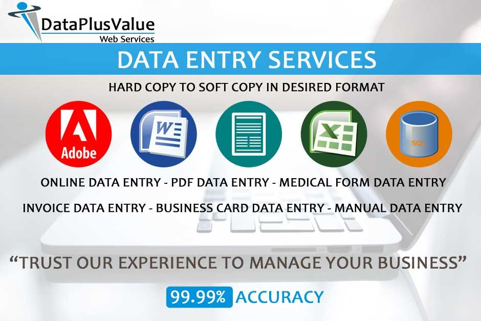 data #entry #services from #dataplusvalue | Data Entry Services ...