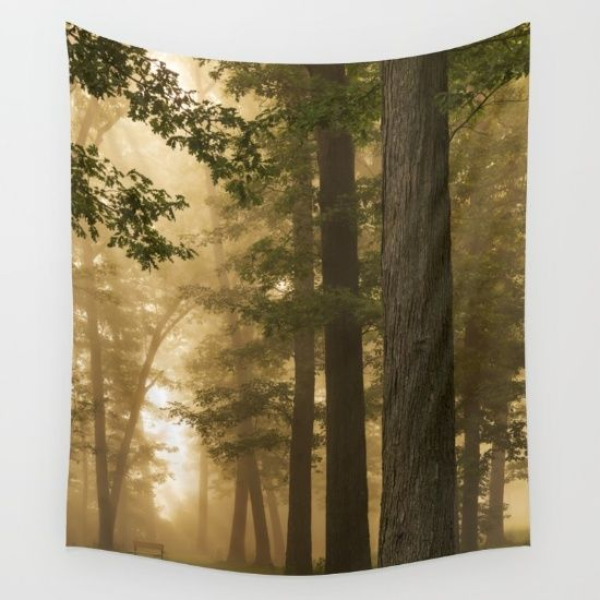 Wall tapestry Silent Morning by Tjc555