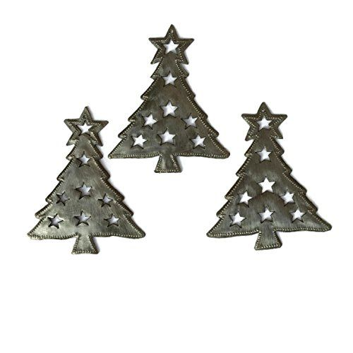 Star Christmas Tree Ornaments (Set of 3) 5\