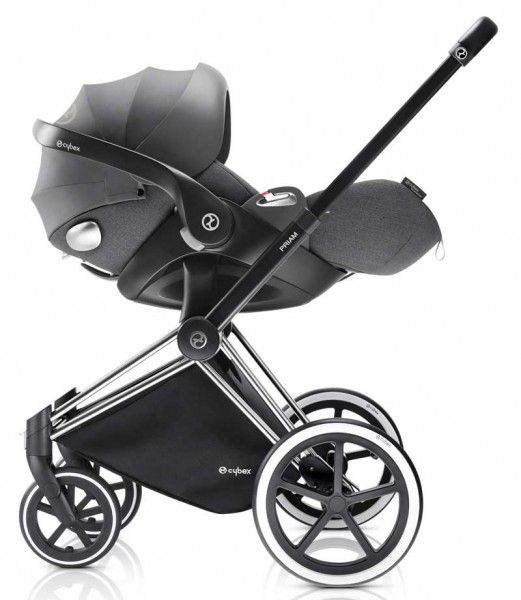der premium kinderwagen cybex priam wird mit fester babywanne lux sitz und cloud q babyschale. Black Bedroom Furniture Sets. Home Design Ideas