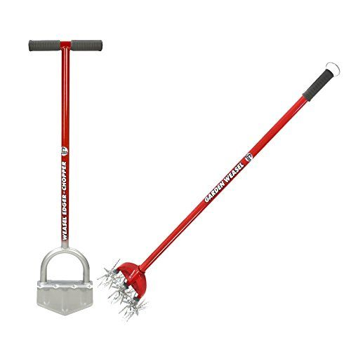 Garden Weasel Edge Chopper With Garden Weasel Cultivator Check