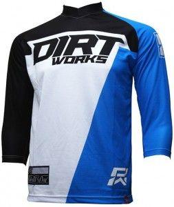 Download Jersey Sepeda Dirtworks Starck Biru Biru Olahraga Cocok