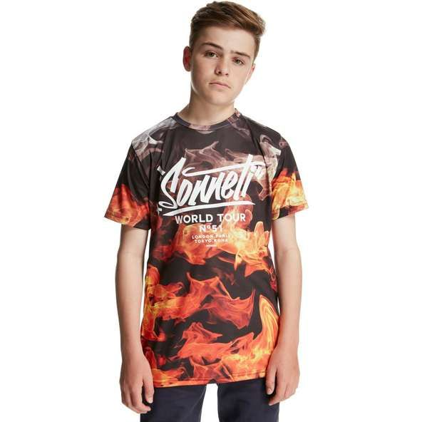 087d907584a Sonneti Flamous T-Shirt Junior - find out more on our site. Find the  freshest in trainers and clothing online now.