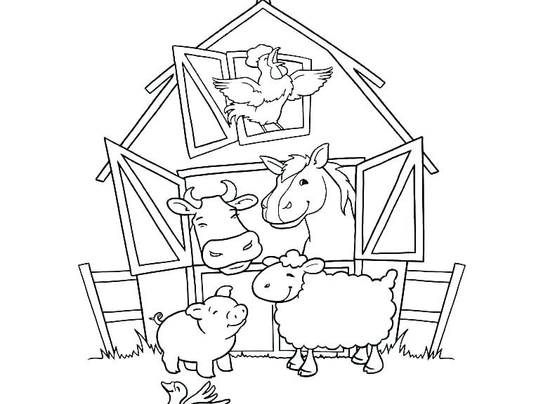 Free Printable Farm Animal Coloring Book Children Pages Of Animals Coloring Page Ideas Farm Animal Coloring Pages Animal Coloring Pages Farm Coloring Pages