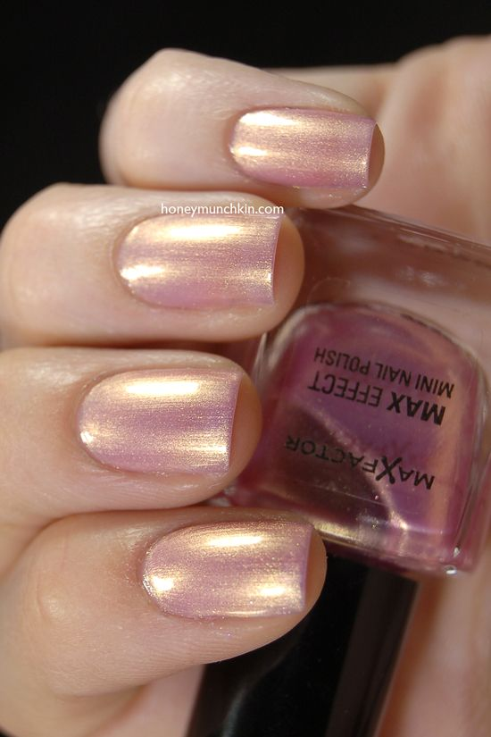 Max Factor - Sunny Pink $6.5 | Polishes for sale | Pinterest
