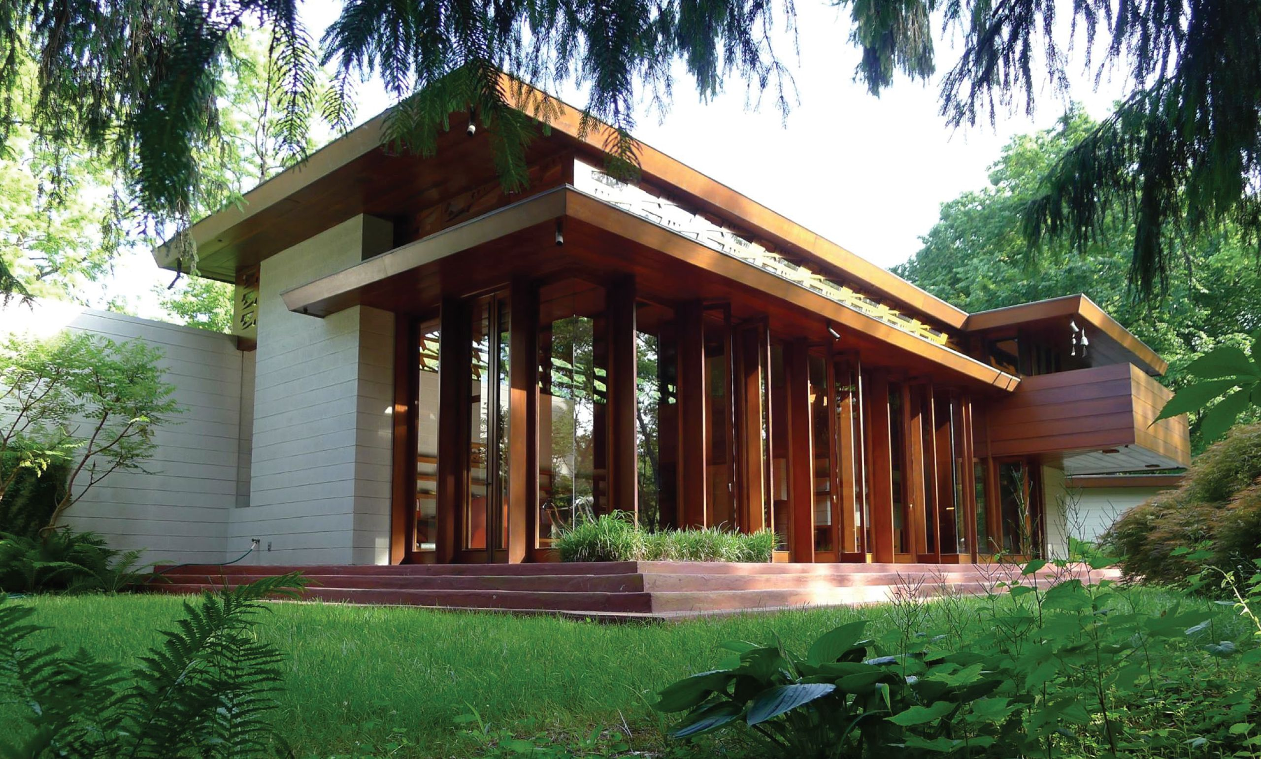 Frank Lloyd Wright House Is Rebuilt Anew Piece By Piece In