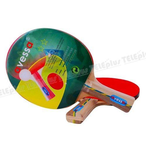 Avessa 2 Yıldız Leisure Masa Tenisi Raketi - Control :19 Speed :9 Spin :6 - Price : TL14.00. Buy now at http://www.teleplus.com.tr/index.php/avessa-2-yildiz-leisure-masa-tenisi-raketi.html