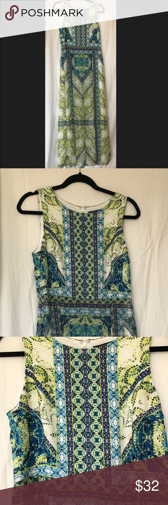 Tahari Asl Maxi Dress Size 8 Clothes Design Summer Maxi Dress Maxi Dress [ 1740 x 580 Pixel ]
