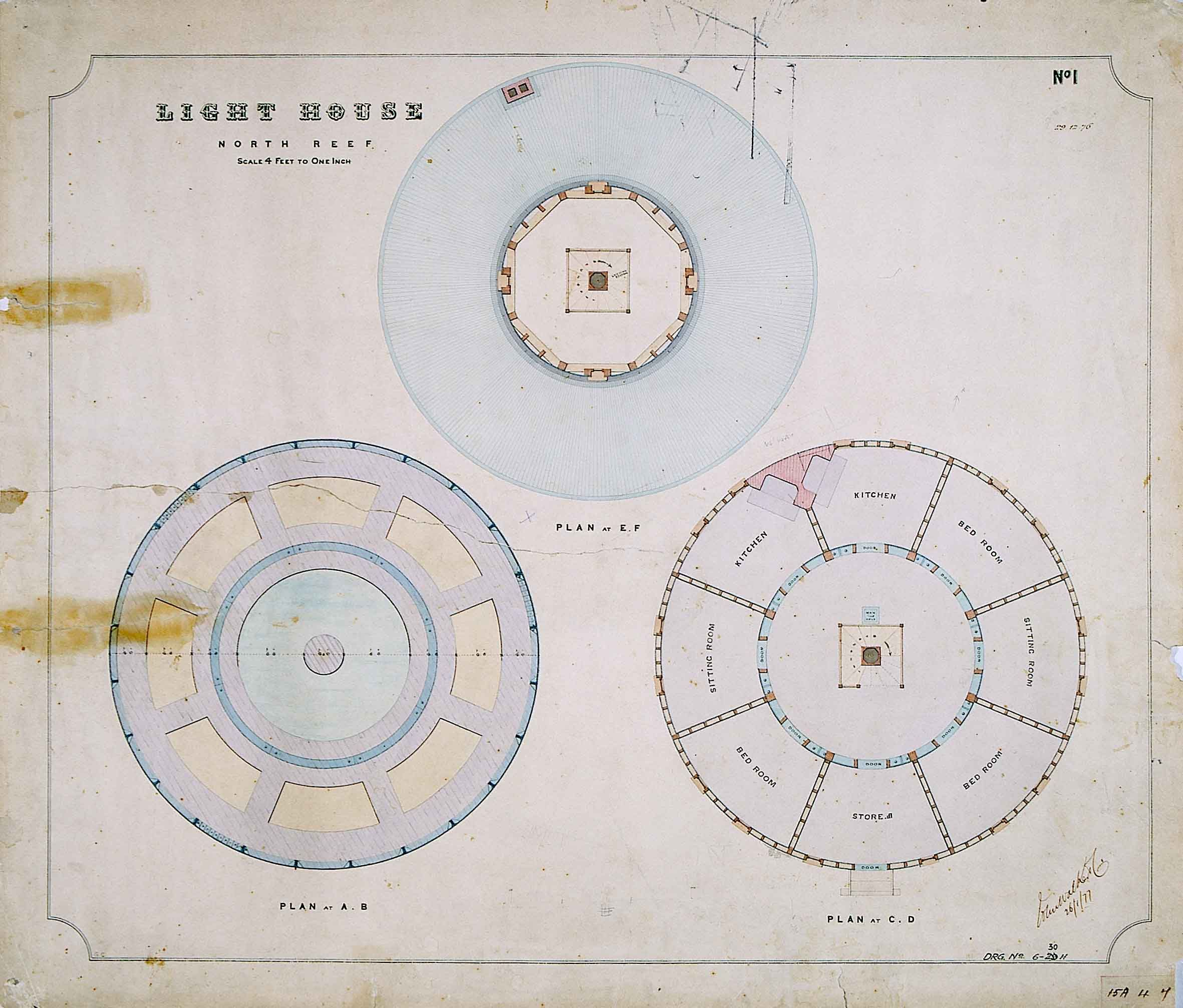 North Reef Lighthouse Floor Plans Lighthouse Floor Plans How To Plan