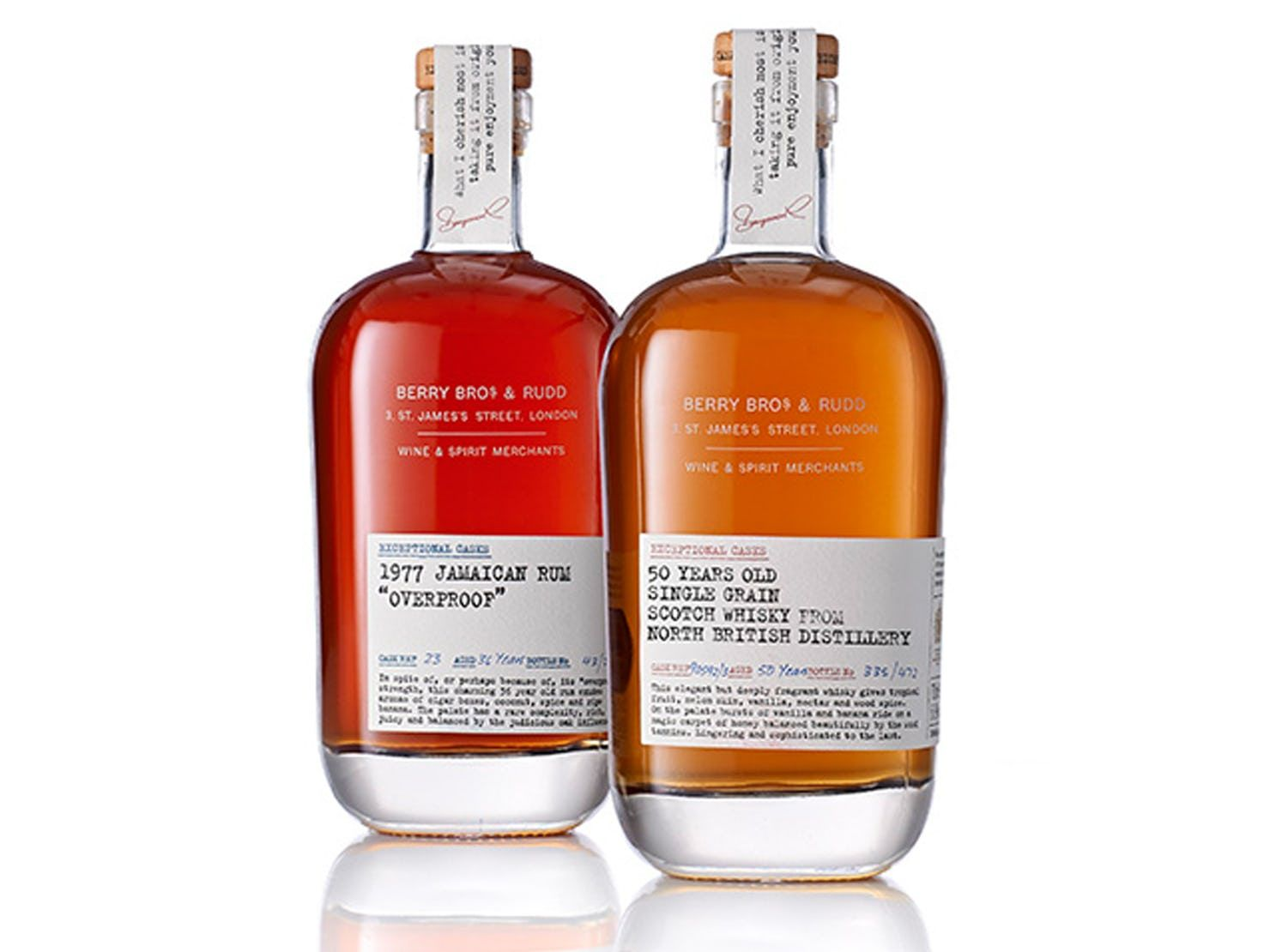 Exceptional Casks Collection Pentagram Cask Bottle Berry Bros