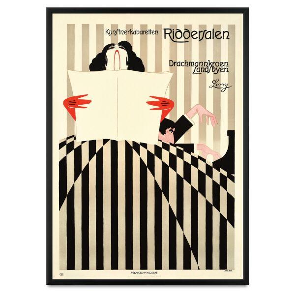Plakat, Riddersalen 1919, inkl. ramme - Politiken PLUS