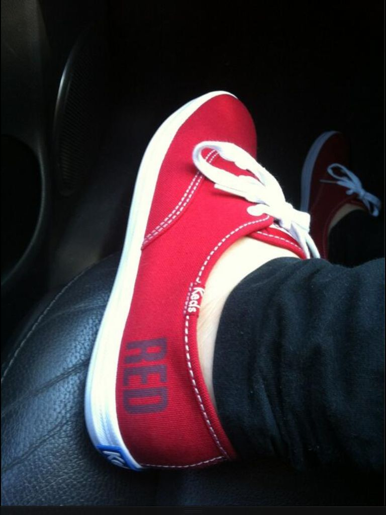 Thanks to @rachelhutch13 for sharing this amazing picture of her #RedKeds
