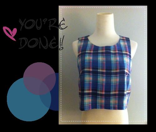 Ella Crop Top Free Pattern | Sewing | Pinterest | Frauenkleidung ...