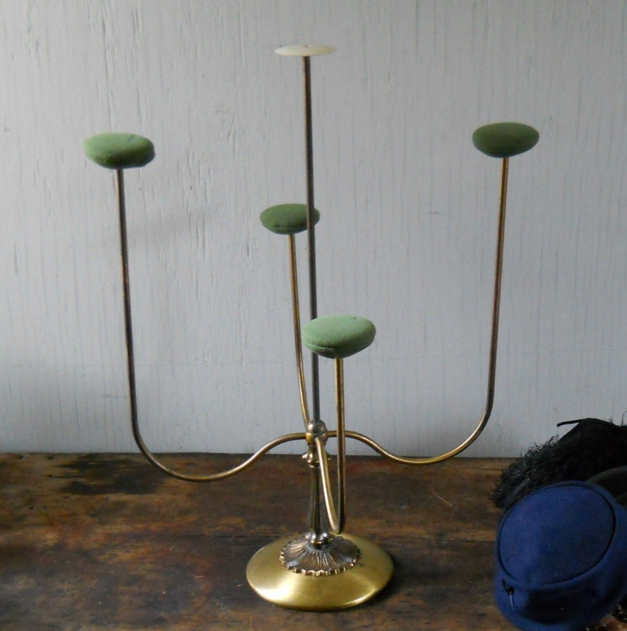 Hat Stand Vintage Counter Top Hat Display Stand 95 00 Via Etsy