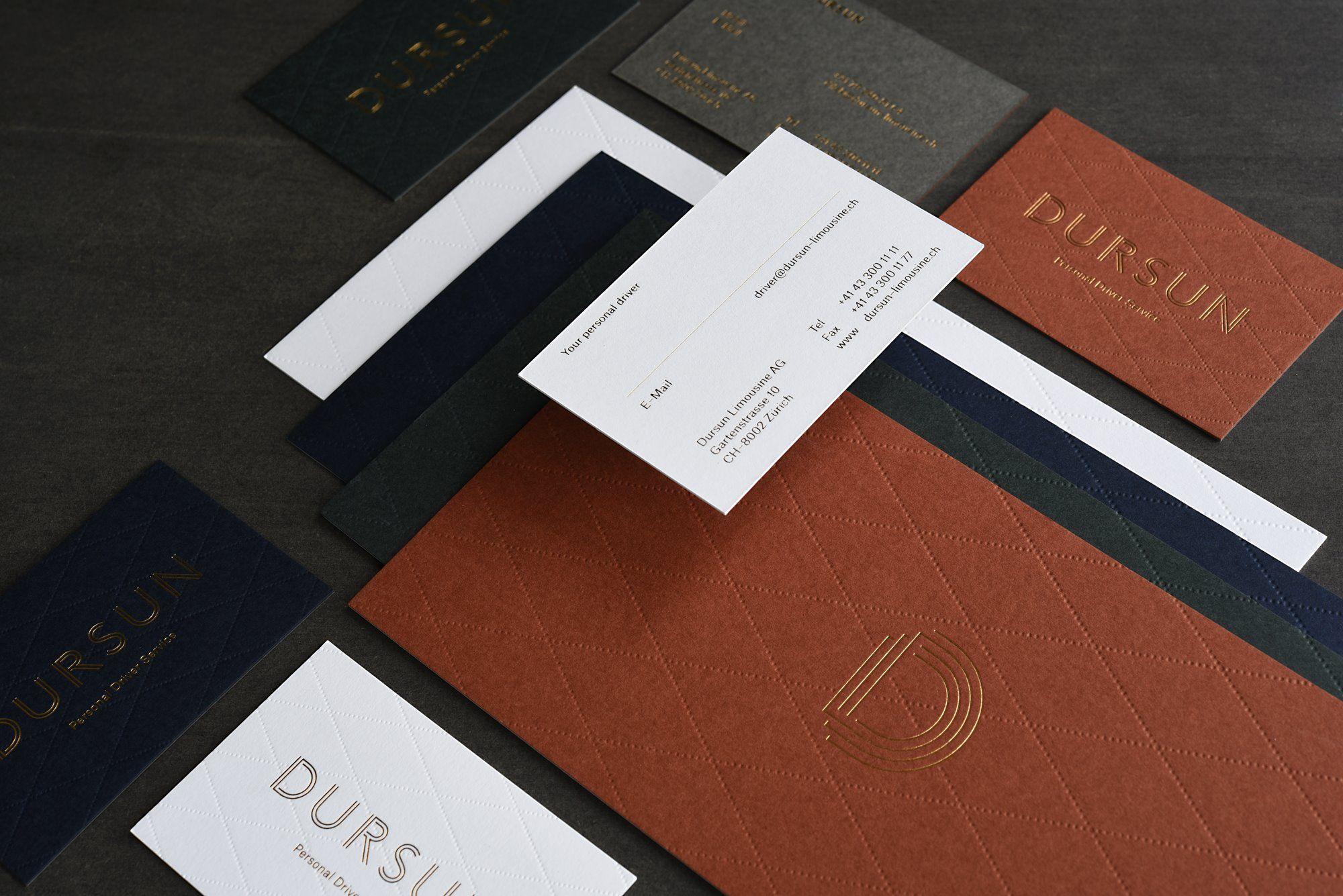Drucktechnik Heißfolienprägung Und Letterpress Blindprägung