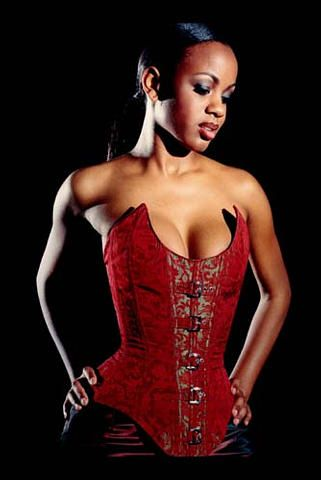 Red corset - another for boudoir!! SJ