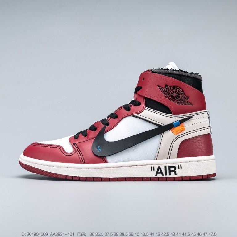 Jordan 1 Retro High Off White Chicago Hype Shoes Jordan 1 Retro