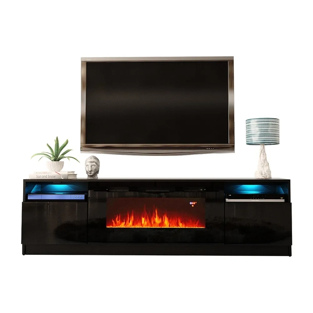 Strick Bolton Amsden Electric Fireplace Tv Stand Electric