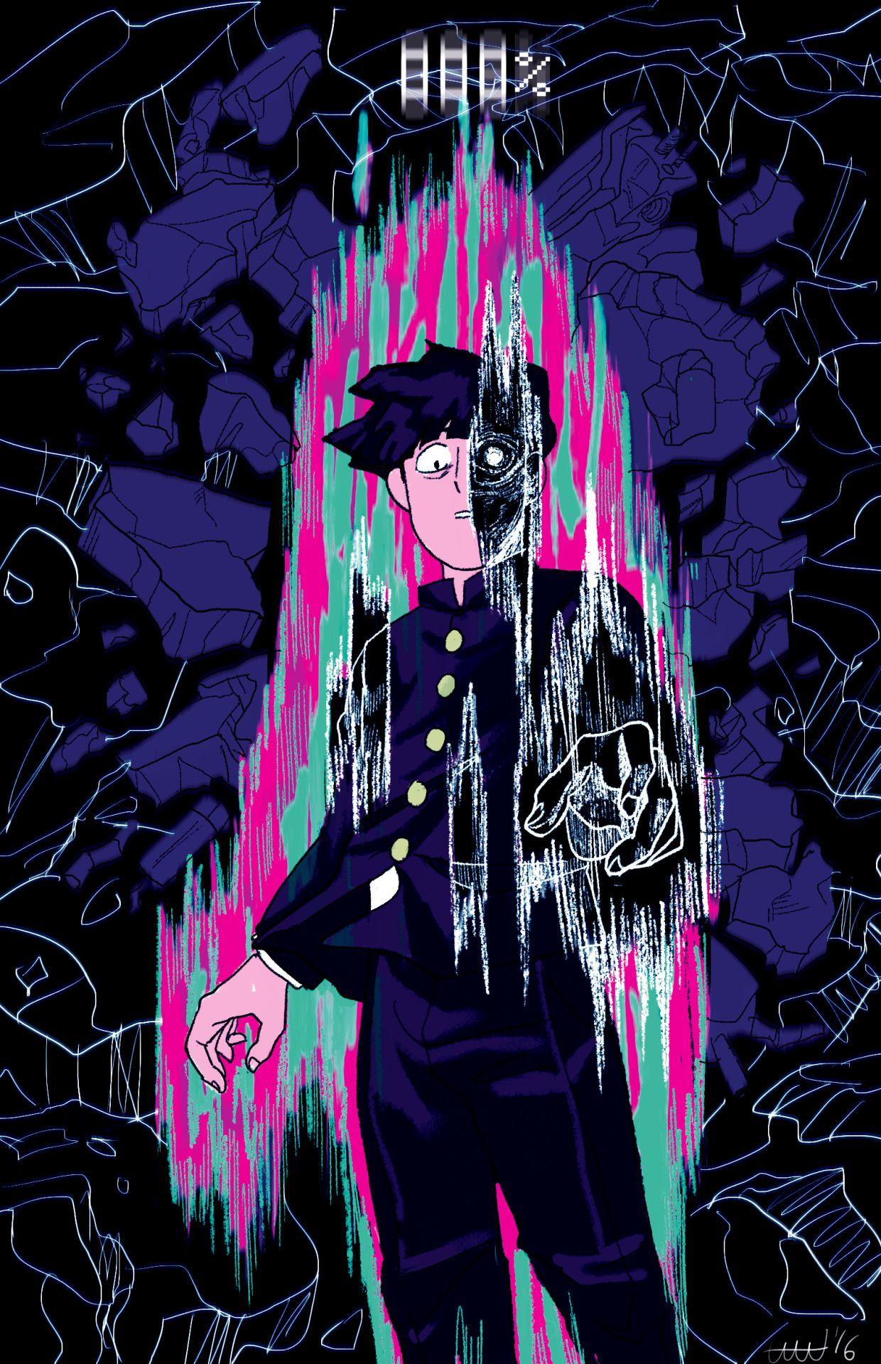 Mob Psycho 100 Shigeo Kageyama Mob Psycho 100 Anime Artwork