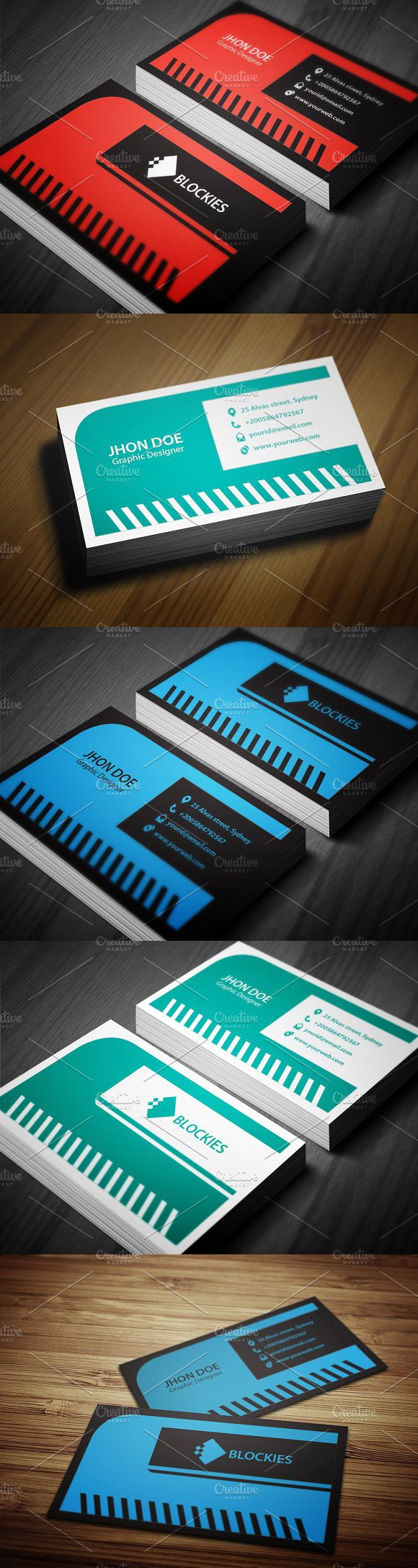 Creative Business Card Template. Creative Business Card Templates