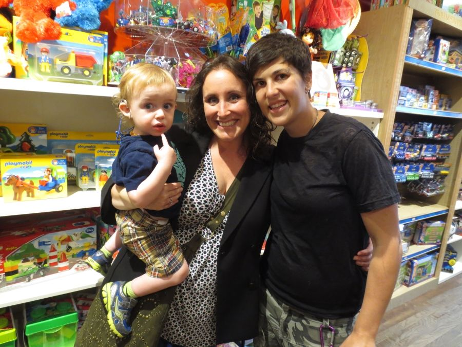 Proud Moms Showing Off Amis First Haircut Lulus Cuts And Toys