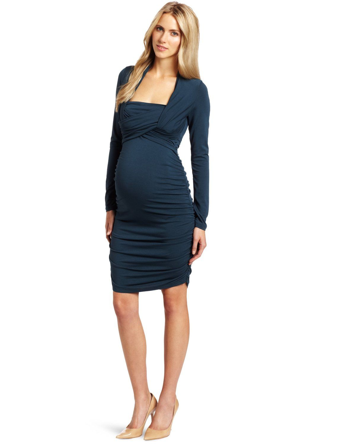 Cocktail maternity dress