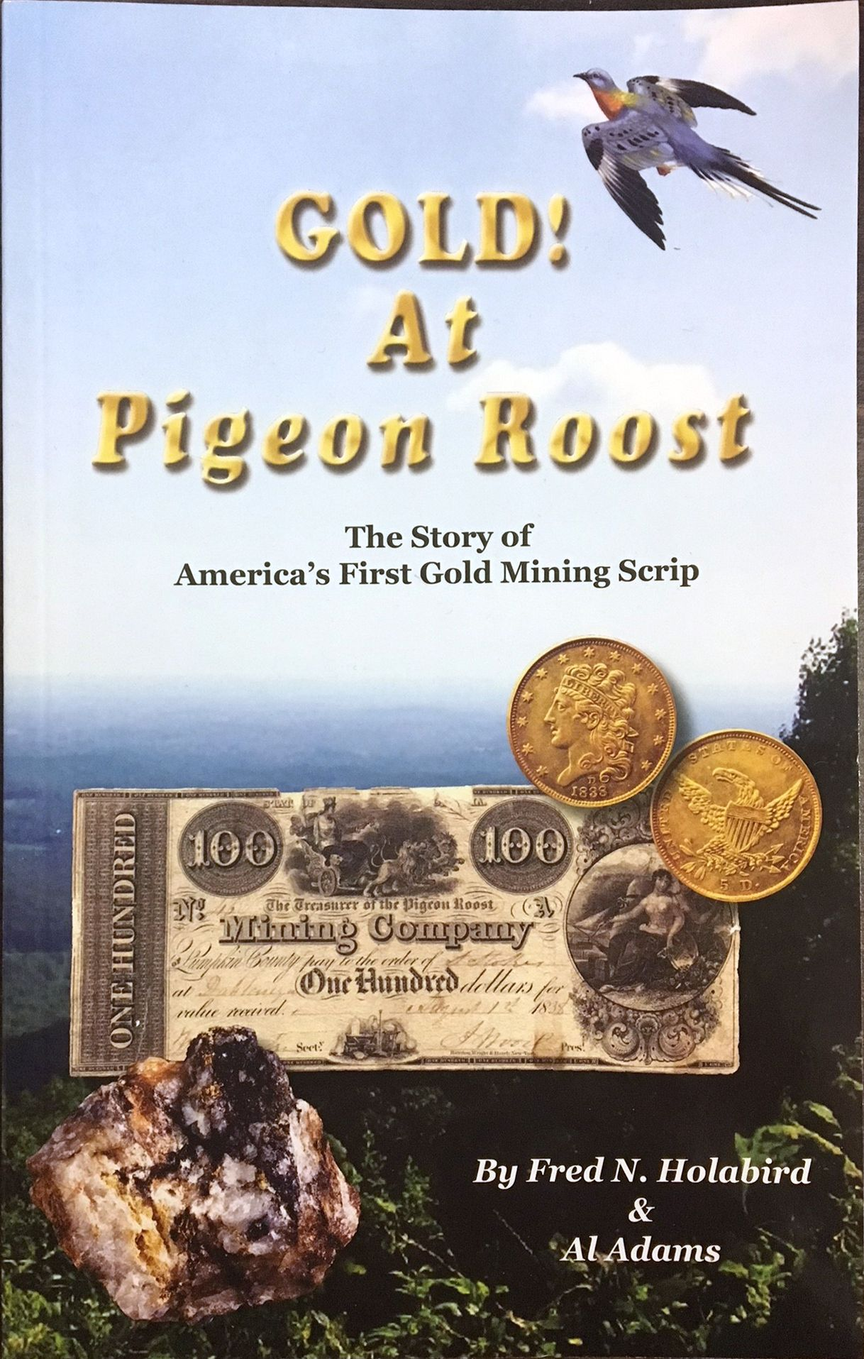 Gold! At Pigeon Roost Pigeon, Gold, Roost