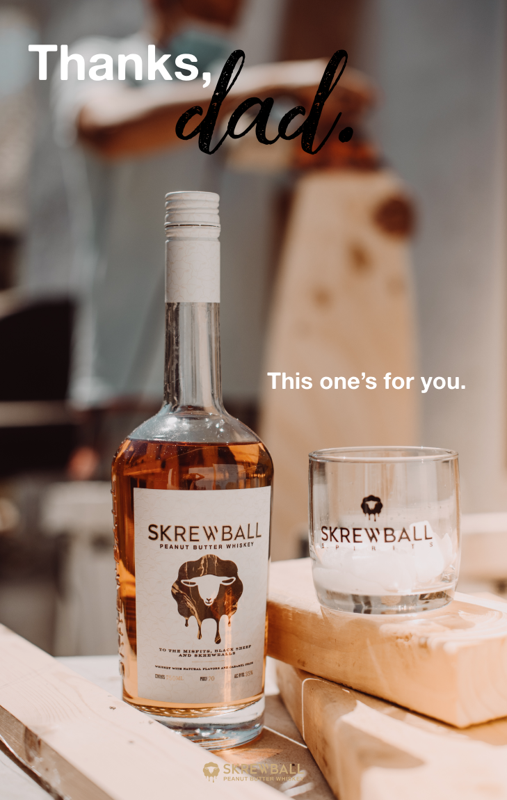 Father S Day With Skrewball Whiskey Diy Iced Coffee Whiskey Tito S Vodka Bottle
