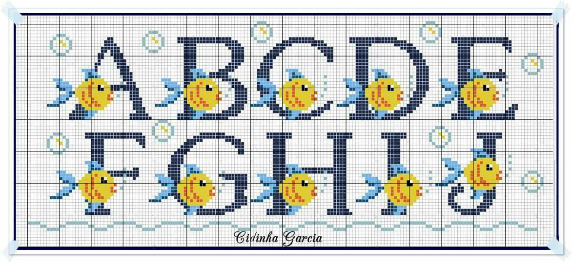 Pin De Maylin Beitia Em Letras Com Imagens Monogramas Em Ponto
