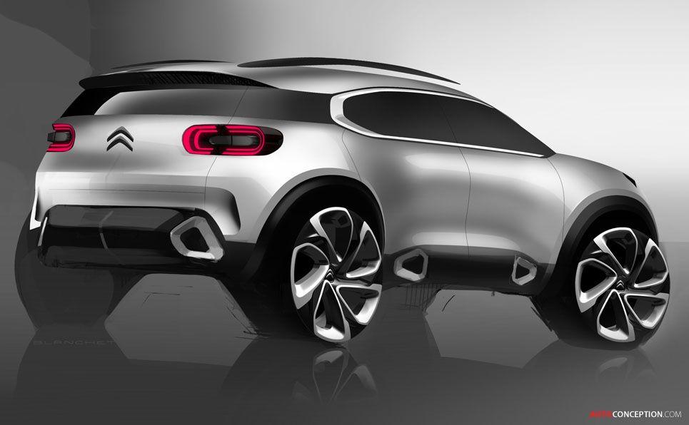 2018 citroen c5 aircross sketches pinterest car sketch and car design sketch. Black Bedroom Furniture Sets. Home Design Ideas