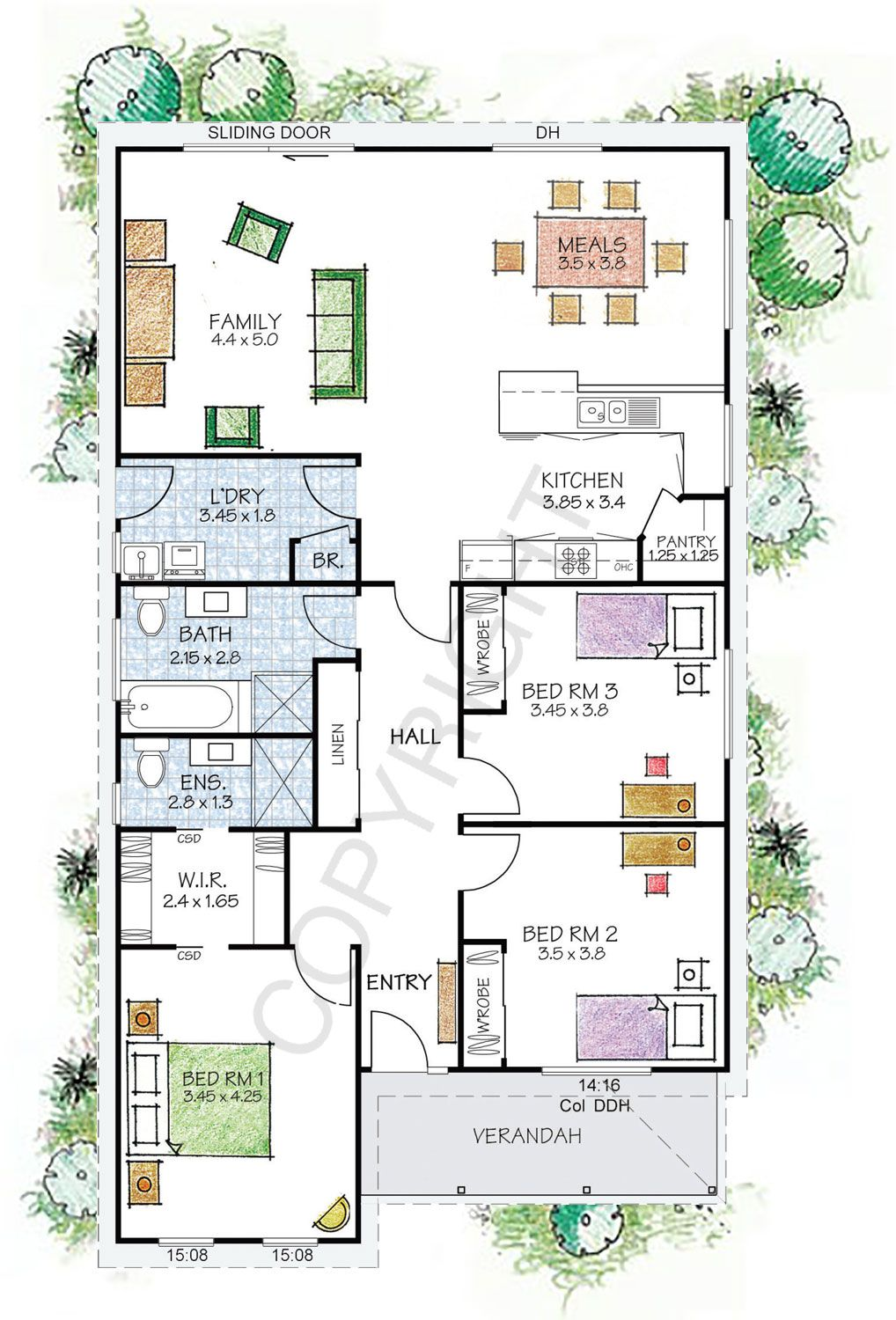 The Fitzroy Floor Plan Paal Kit Homes Offer Easy To Build Steel Frame Kit Homes For The Owner Builder And Have Di Kit Homes House Plans Australia Floor Plans