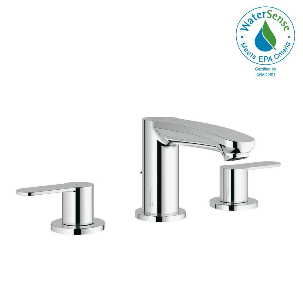 Grohe Eurostyle Cosmopolitan 8 In Widespread 2 Handle 1 2 Gpm