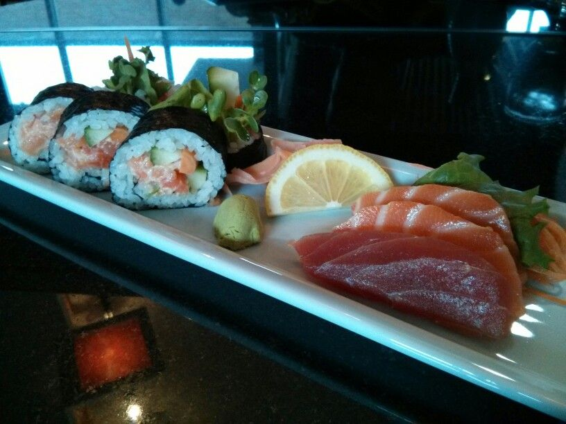 Sushisashimi Combo Spicy Salmon Origami Uptown Twin Cities