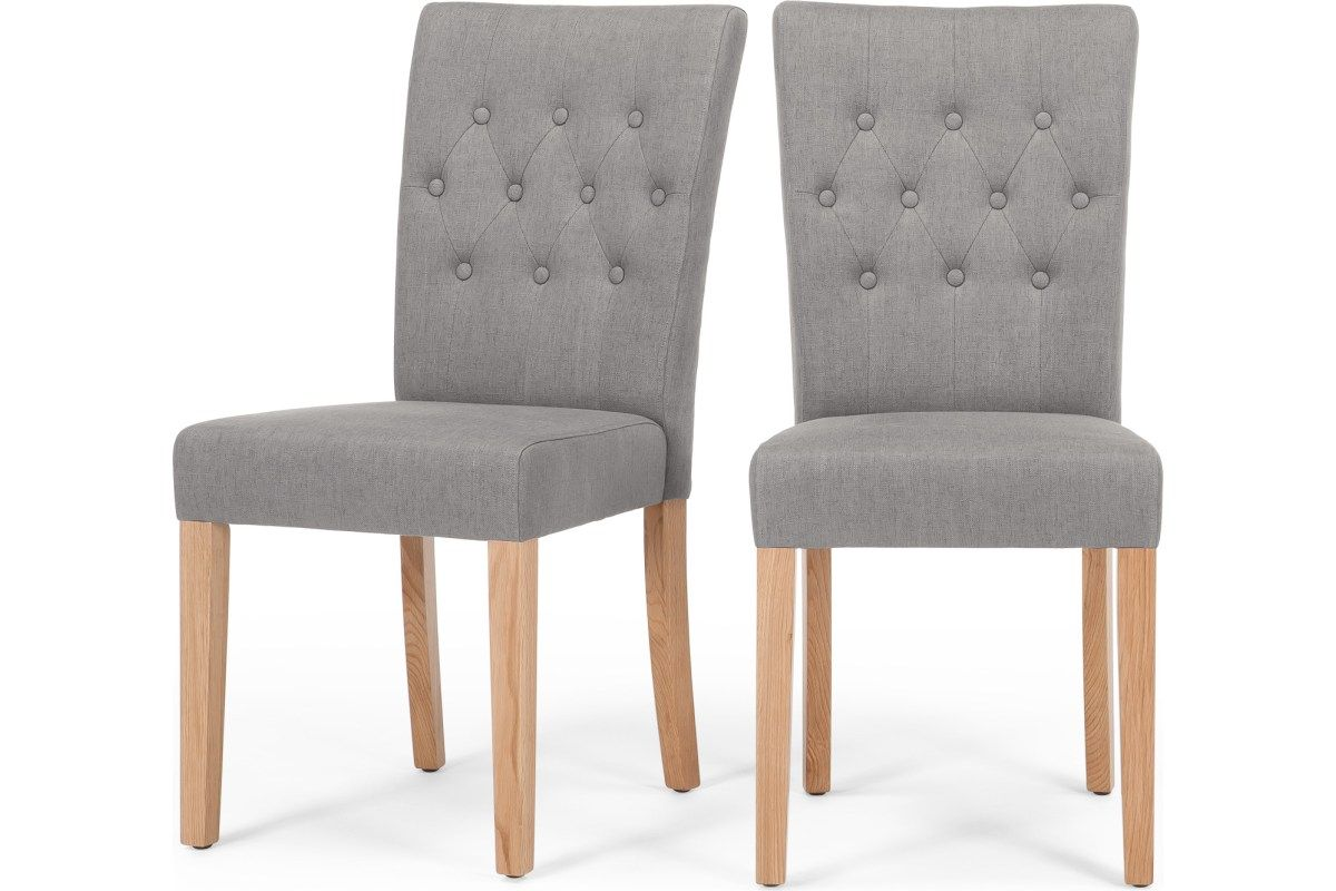 2 X Flynn Polsterstuehle Graphitgrau Made Com Dining Chairs Gray Dining Chairs Chair Design