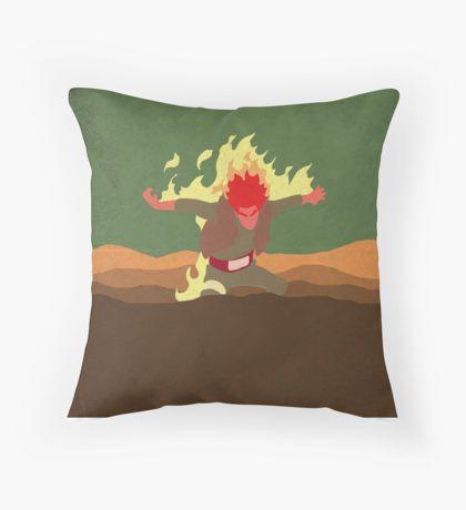 Guy  Naruto Throw Pillow