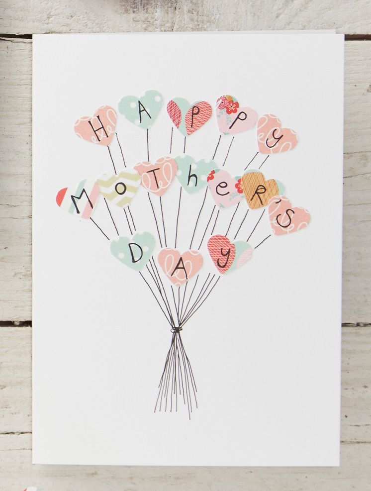 4 easy mothers day cards to make art de stresses me pinterest these diy cards for mothers day are so adorable they make a great last minute diy craftgift to give to your mother or grandmother and they require few m4hsunfo
