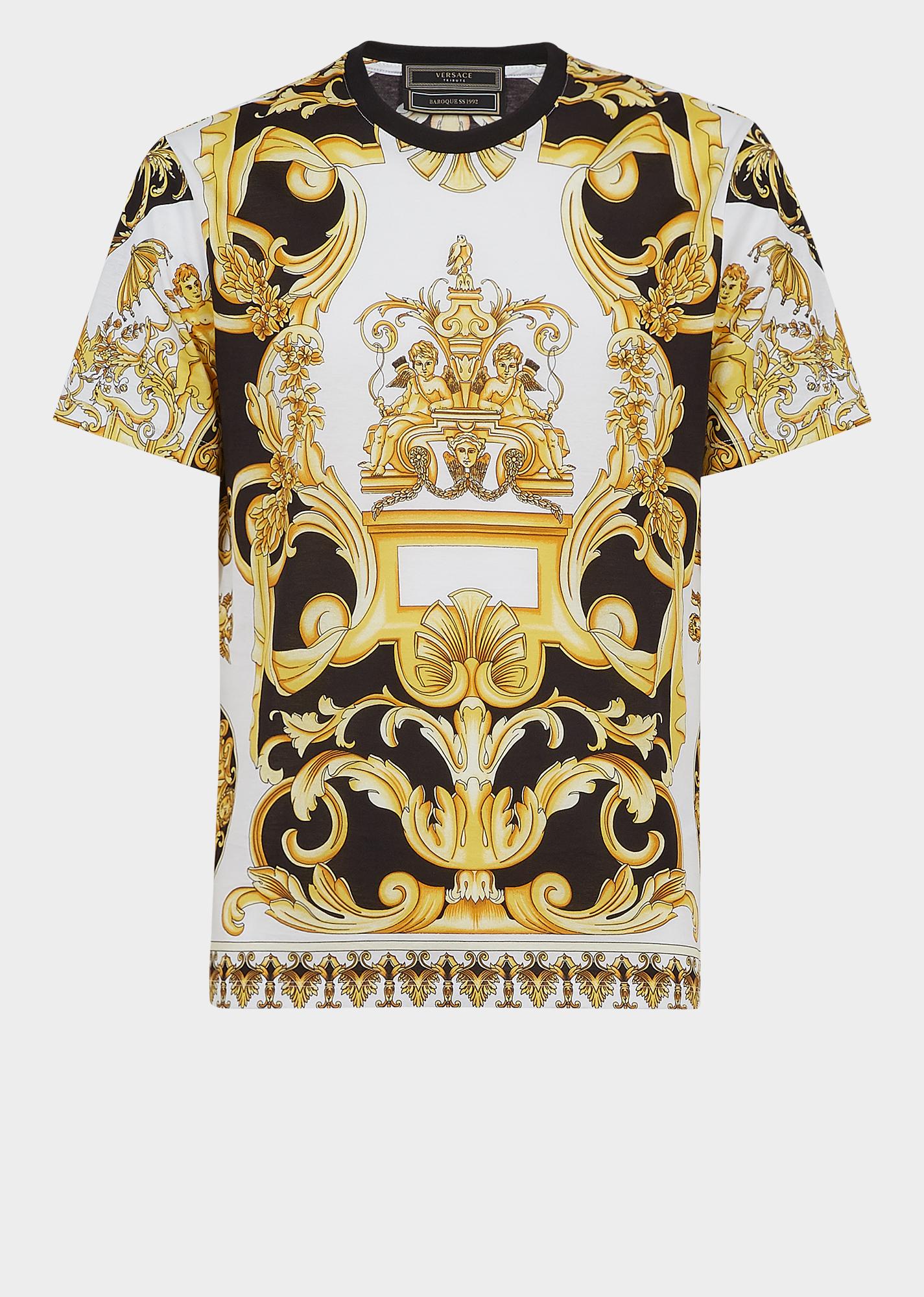 634360d01716b1 T-Shirt mit Barocco SS 92-Print - Gemustert T-shirts