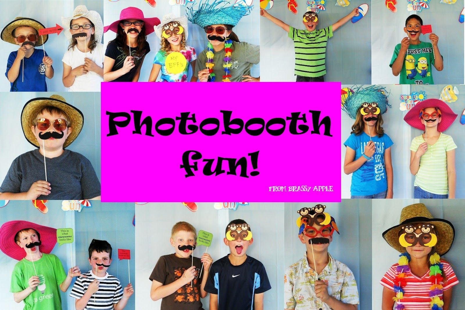 Photo Booth For Kids Dance Party