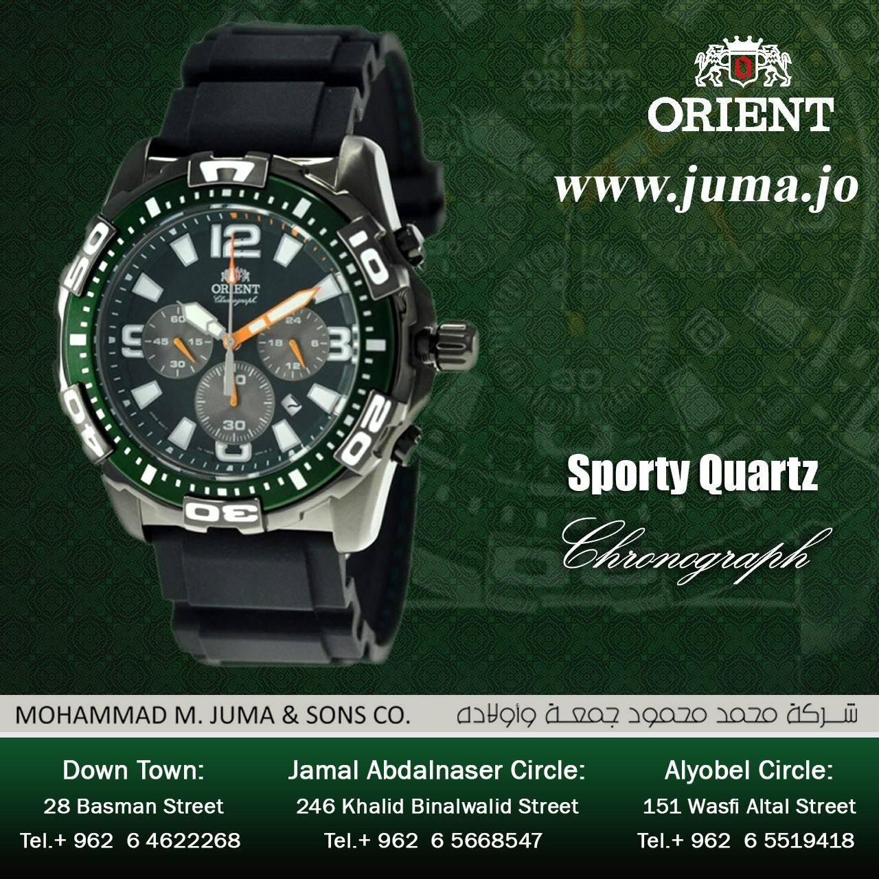 a688ddfd6 Check out the new arrival of orient sporty quartz watch... #orientwatch #