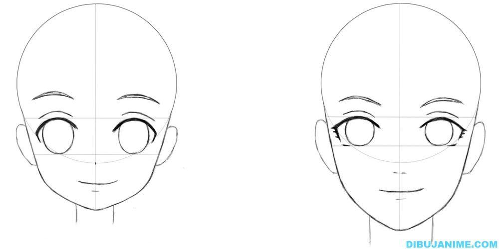 Como Dibujar: Diferencias Entre Una Niña Y Mujer Adulta Anime/manga…