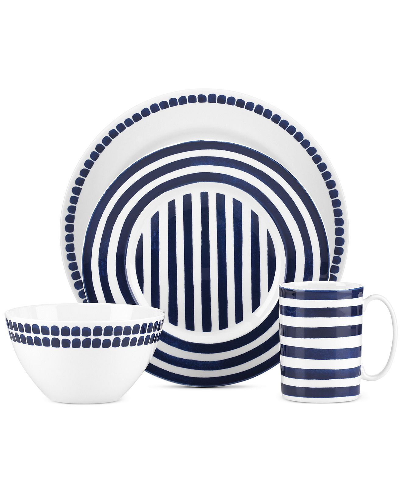 Kate Spade Charlotte Street North Collection - kate spade new york - Dining u0026 Entertaining - Macyu0027s  sc 1 st  Pinterest & Kate Spade Charlotte Street North Collection   Casual dinnerware ...