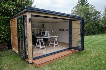 Garden Studio, Modern/Cube Contemporary Prefab Studios