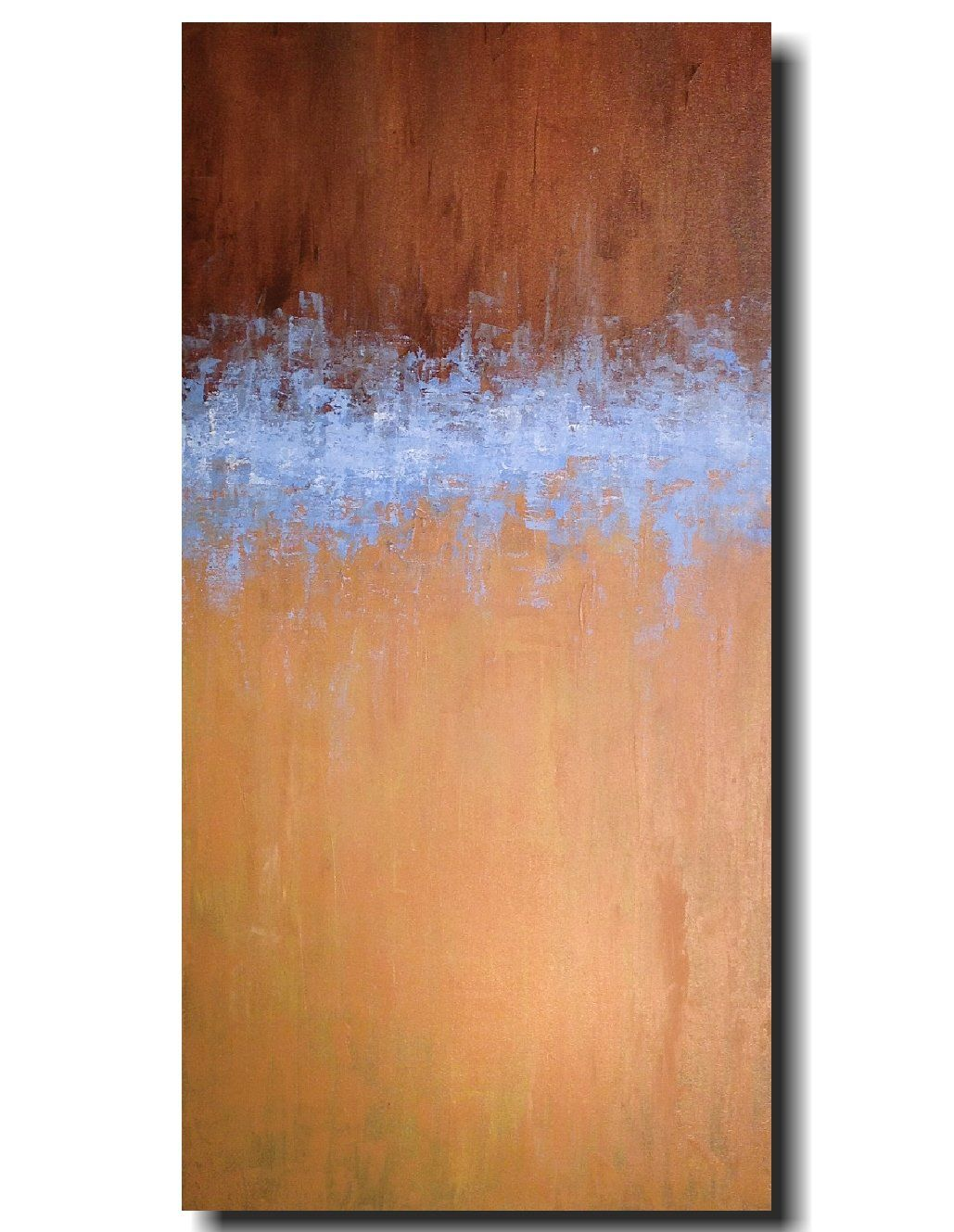Original large abstract painting x