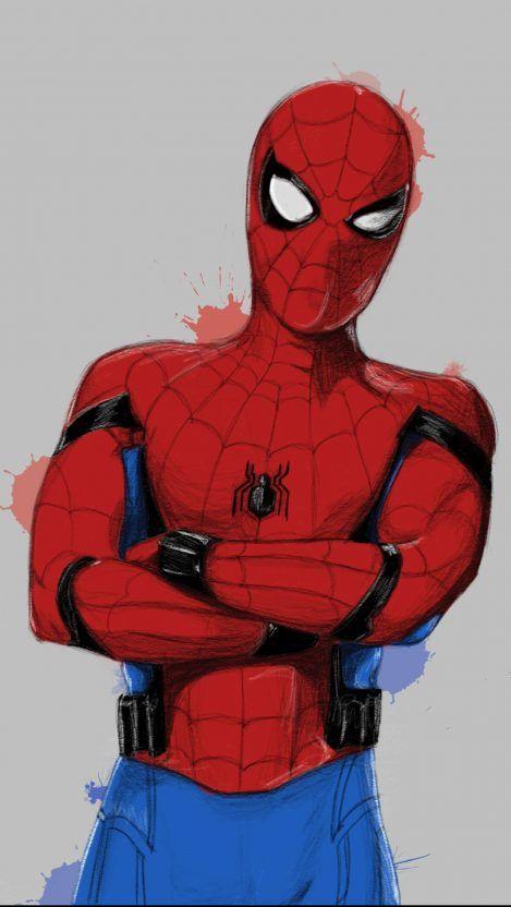 Dark Spider Man iPhone Wallpaper - iPhone Wallpapers #darkiphonewallpaper