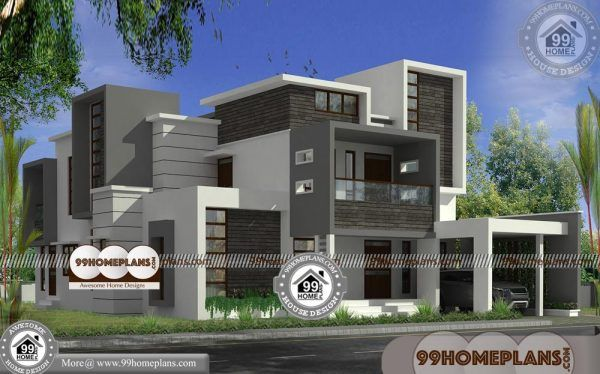 Bungalow House Modern Design Two Floor Contemporary Flat Roof Plan Modern Bungalow Exterior Modern Bungalow House Plans Modern Bungalow House Design