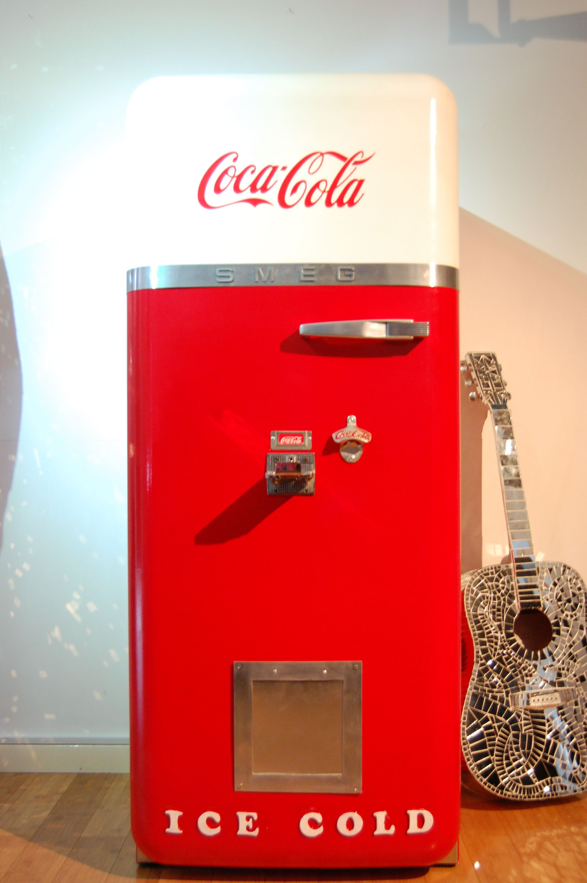 A fantastic Picture of Drew Bennett\'s up-cycled Smeg Fridge next to ...
