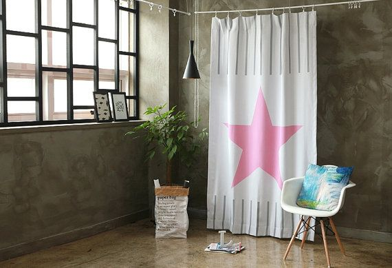 94 inch wide blinds blinds 94cm pink star black out wide fabric panel for curtains 59 inches 94 inches 73654